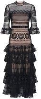 Temperley London Midi Pirate Sleeved Dress