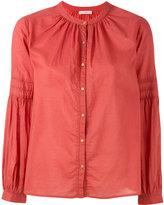 Ulla Johnson band collar shirt - women - Cotton - 4