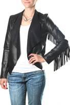 KUT from the Kloth Vegan-Leather Fringe Jacket