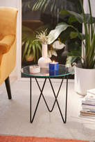 Urban Outfitters Anderson Glass Side Table