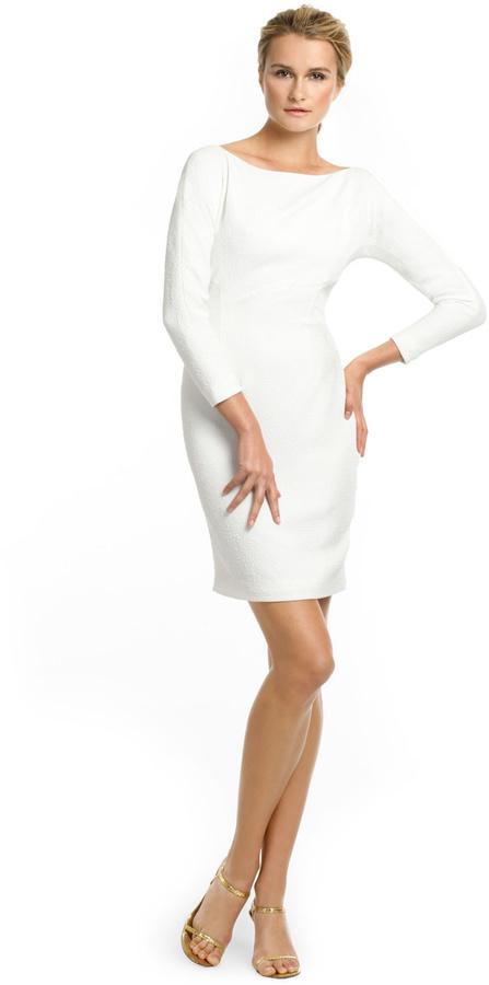 Rachel Roy White Tex Dress