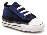 Converse Chuck Taylor All Star First Star Boys Infant Plaid Crib Shoe