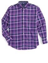 Tailorbyrd Plaid Dress Shirt (Big Boys)