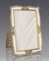 """Jay Strongwater Scalloped 4"""" x 6"""" Frame"""