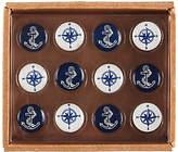 John Lewis Coastal Push Pins, Set of 12