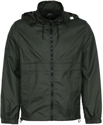 A.P.C. Miles Nylon Windbreaker-jacket