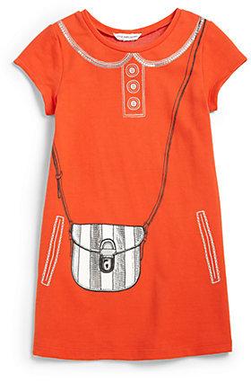 Little Marc Jacobs Toddler's & Little Girls Tromp L'Oeil Purse Dress