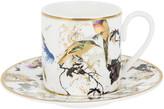 Roberto Cavalli Garden Birds Coffee Cup & Saucer