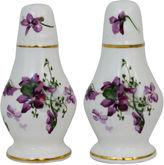 One Kings Lane Vintage Lilacs Salt & Pepper Shakers, Pair