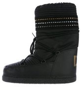 Dolce & Gabbana Embellished Moon Boots