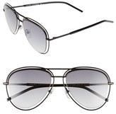 Marc Jacobs Women's 54Mm Aviator Sunglasses - Dark Ruthenium