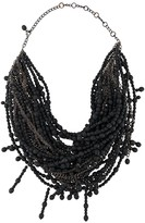 2000s Beaded Chain Necklace