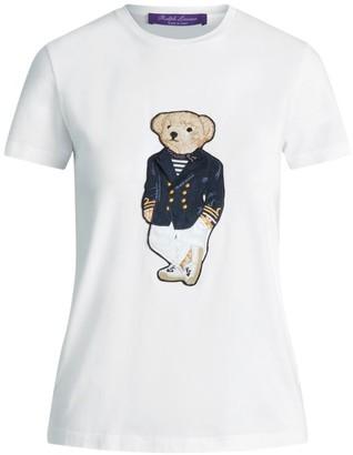 Ralph Lauren Riviera Bear Stretch-Cotton T-Shirt