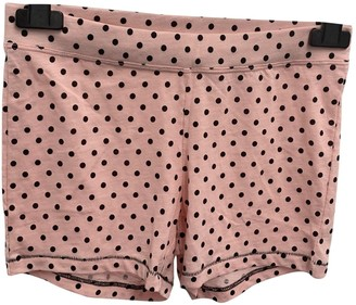 KENDALL + KYLIE Pink Cotton Shorts for Women