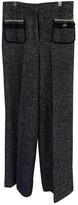 Carolina Herrera Grey Wool Trousers for Women