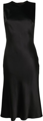 Ermanno Scervino Lace-Trim Fitted Dress