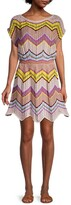 Thumbnail for your product : M Missoni Zigzag Crochet Dress