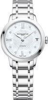 Baume & Mercier 10268 Classima stainless steel and diamond watch