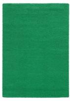 "Pantone Focus 4849E Shag Accent Rug - Emerald (3'10""x5'5"")"