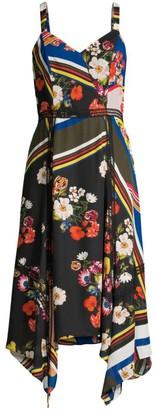Parker Ellenore Handkerchief Midi Dress
