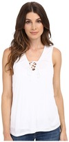 Lanston Lace-Up Tank Top