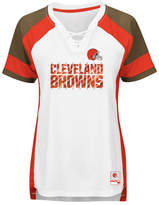 Majestic Women's Cleveland Browns Draft Me T-Shirt