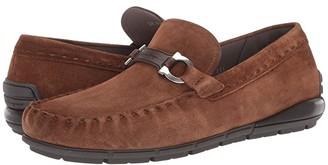 Salvatore Ferragamo Tasby Driver (Brown Sugar) Men's Shoes