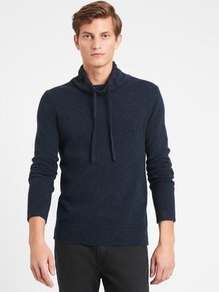 Banana Republic Italian Wool-Blend Funnel-Neck Sweater