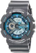 Casio Men's G-Shock GA110TS-8A2 Rubber Quartz Watch