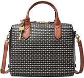 Fossil Fiona Printed Satchel