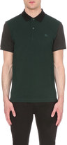 Burberry Colour-block cotton-piqué polo shirt