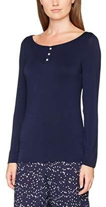 Pour Moi? Women's Moonstruck Long Sleeve Secret Support Top Pyjama