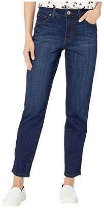 Jag Jeans Reese Vintage Straight Leg Jeans in Crosshatch Denim