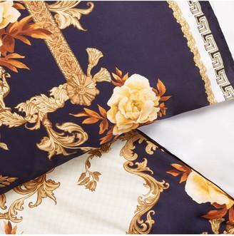 River Island Floral Baroque Print Duvet Cover Set