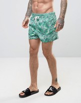 Calvin Klein Print Swim Shorts