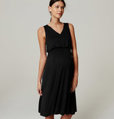 LOFT Maternity Blouson Dress