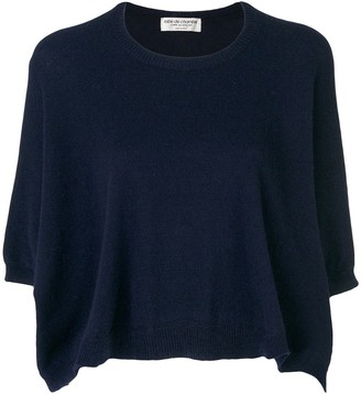 Comme des Garcons Pre Owned cropped knitted jumper