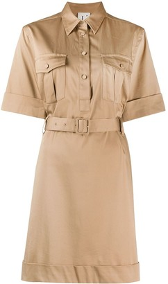 L'Autre Chose Safari-Style Short Dress