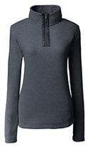 Classic Women's Petite Cozy Fleece Half-zip Pullover-Purplette Heather