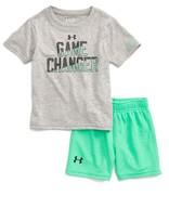 Under Armour Infant Boy's Game Changer Heatgear T-Shirt & Shorts Set