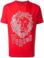 Versus eyelets lion T-shirt