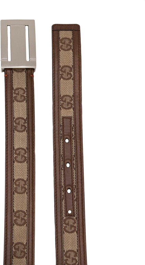 Thumbnail for your product : Gucci Pre-Owned 1970s GG logo belt