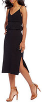 Gianni Bini Priscilla Side Slit Midi Dress