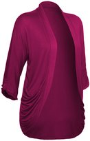 Hot From Hollywood Women's Open Front Drape Plus Size Shawl Cardigan with Pockets