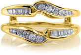 JCPenney MODERN BRIDE 3/8 CT. T.W. Diamond 14K Yellow Gold Ring Wrap