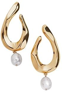 BaubleBar Petra Cultured Freshwater Pearl Dangle Drop Earrings