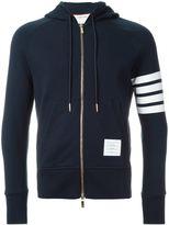 Thom Browne zipped hoodie