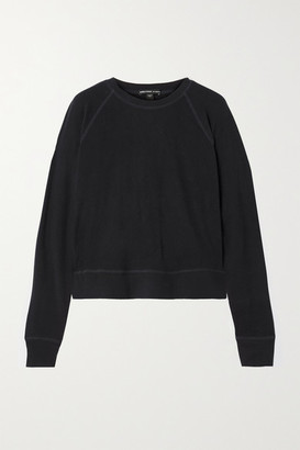 James Perse Brushed Jersey Top - Navy