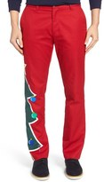 Vineyard Vines Slim Fit Xmas Tree Pants