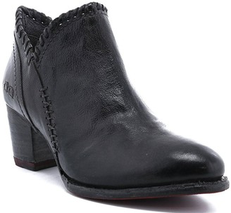 Bed Stu Short Leather Boots - Carla